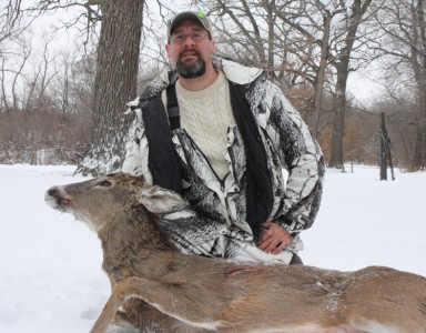 I killed this deer on a late season CWD hunt in Grundy County. The deer did NOT have CWD.