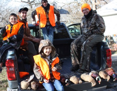 Nothing beats hunting with kids. Get them off on the right footsteps through a certified hunter safety course.